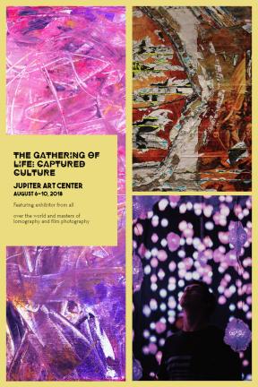 Invitation Collage Exhibit Event Program
