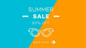 E-commerce Summer Shopping Ad