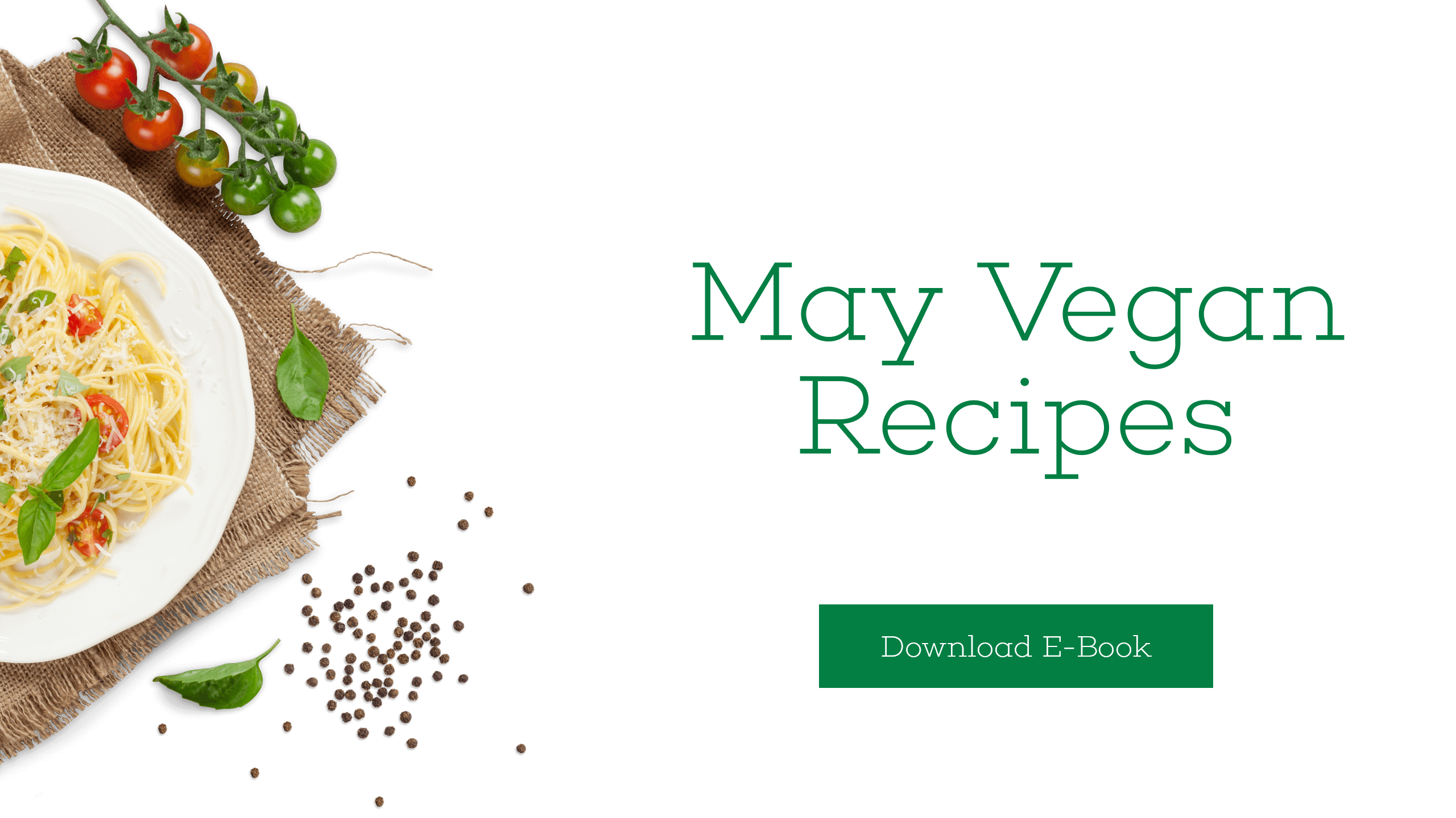 Vegan Recipes - Download E-Book Design  Template