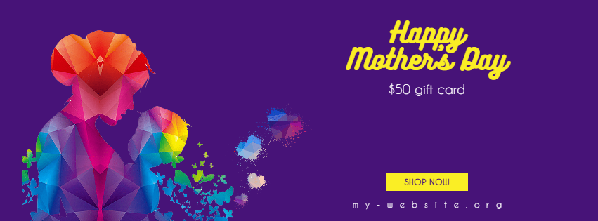 Happy Mother's Day Design  Template