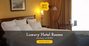 Hotel Room Banner