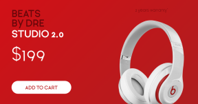 Sales Banner - Beats Headphones