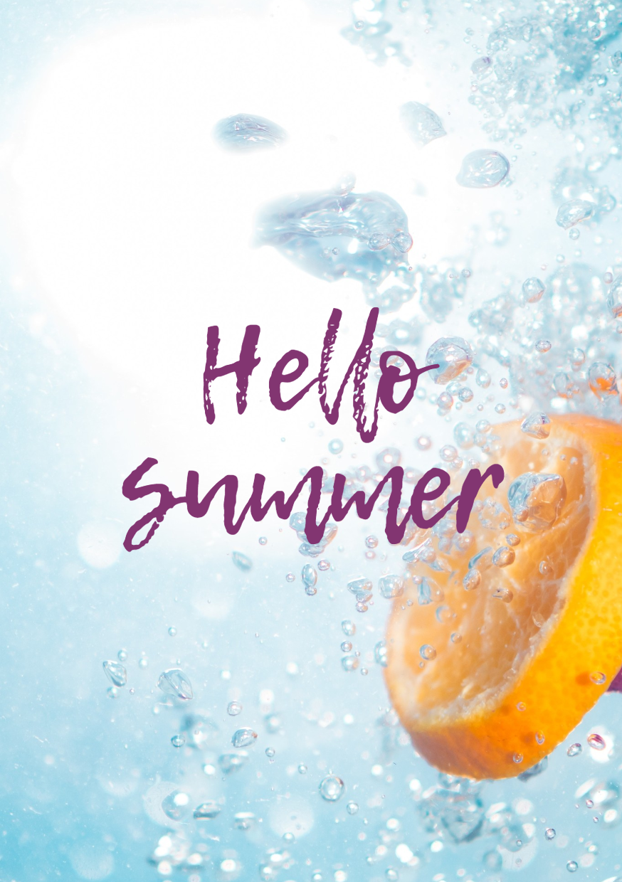 Blog Display Creative - Hello Summer Design  Template