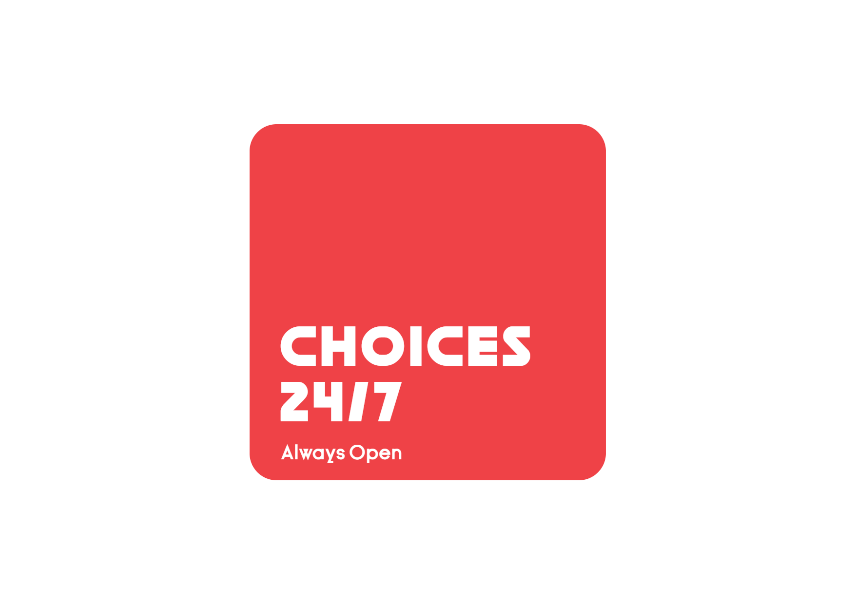 Red Logo Design with a Rounded Square Design  Template