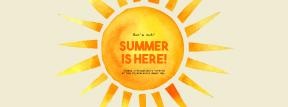 Editable Summer Vibes Post for Social Media