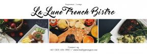 Photo Collage Custom Design for Restaurant - Social Media Post