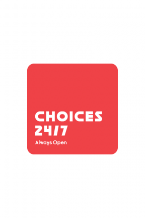 Red Logo Design with a Rounded Square