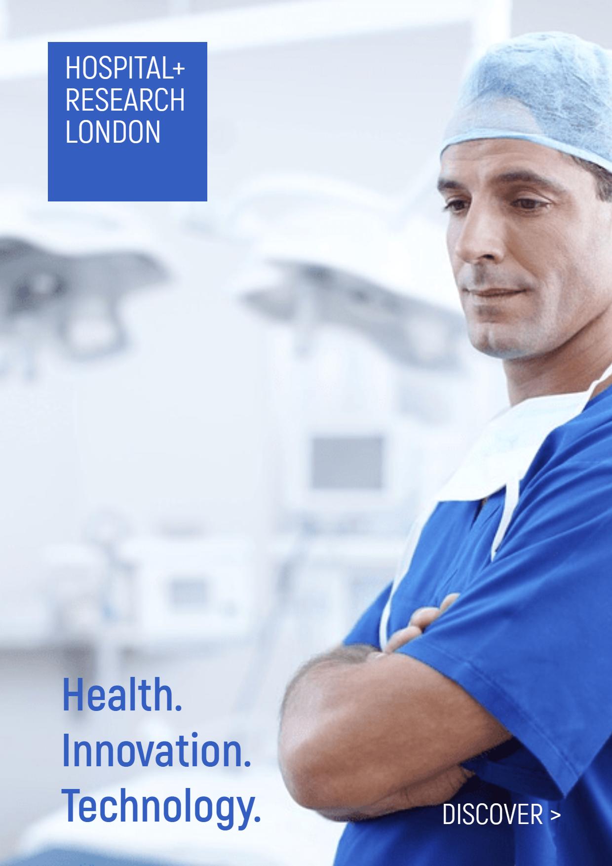 Customizable Hospital Banner Ad Design  Template