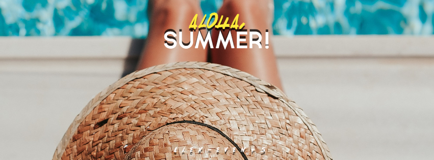 Editable Hello-Aloha Summer Design Design  Template