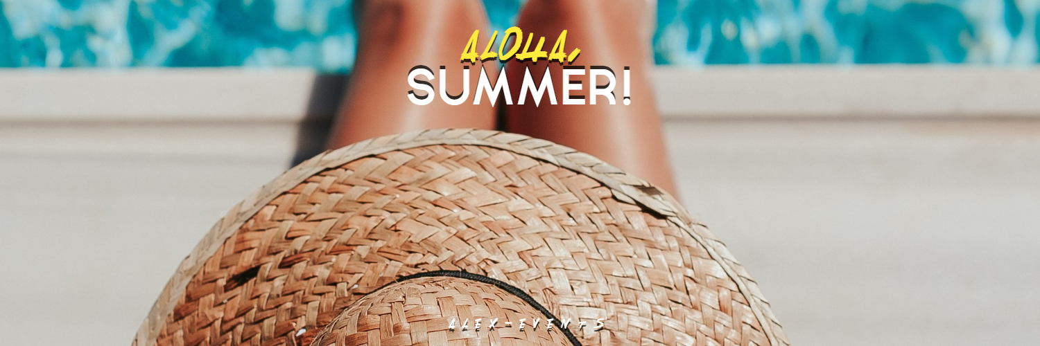 Editable Hello-Aloha Summer Design Design  Template