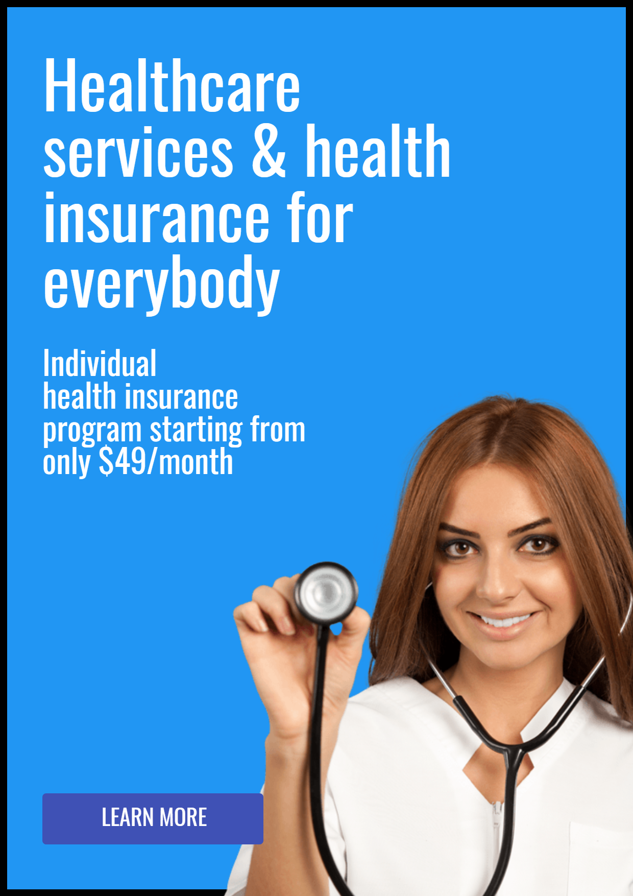 Nice Health Insurance Photo - Easy Design  Template
