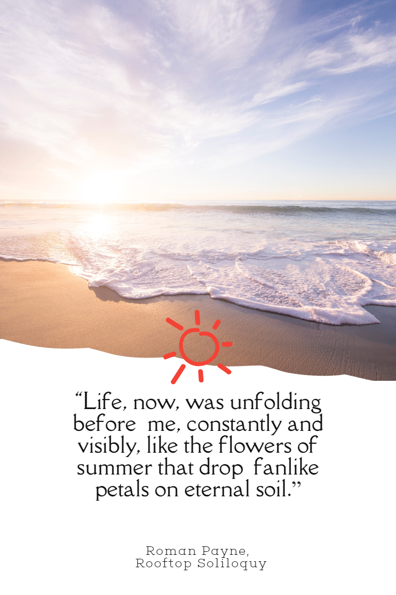 Photo Summer Quote Post Easy to Design  Template