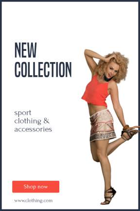 Latest sport clothing - New Sport Banner Collection