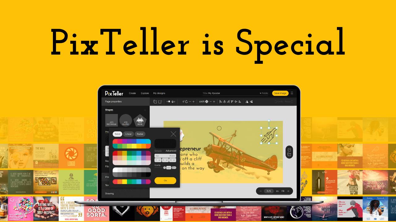 PixTeller is Special