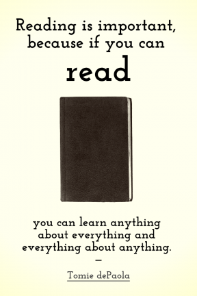If You Can Read - Picture Quote