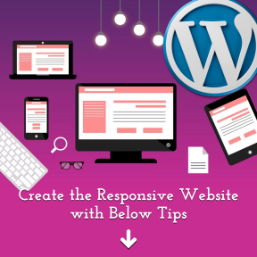 Create the Responsive Website with Below Tips
