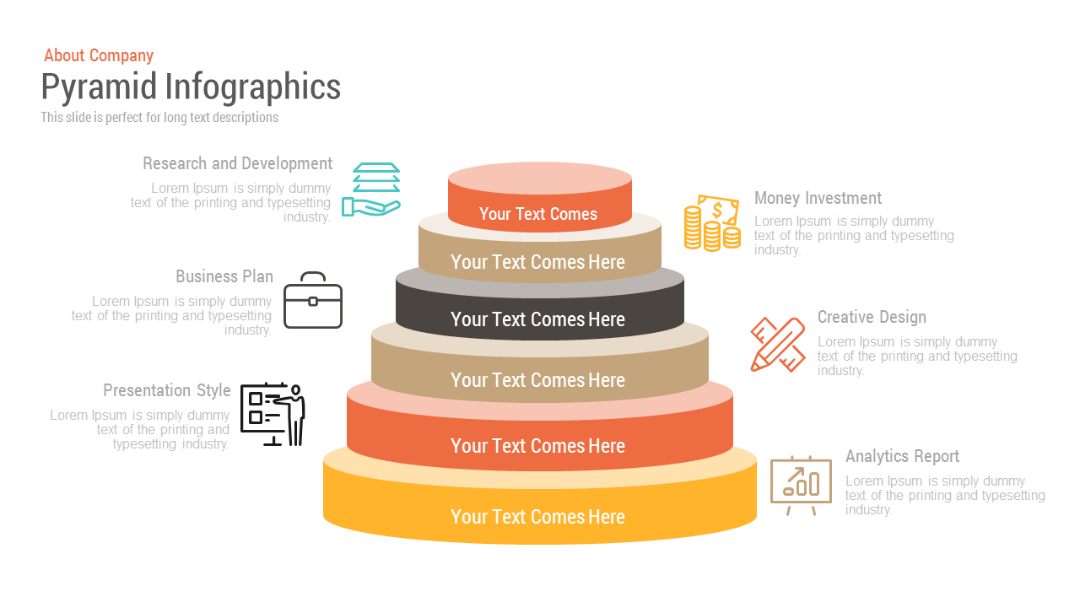 Pyramid Infographics Free Google Slides Themes