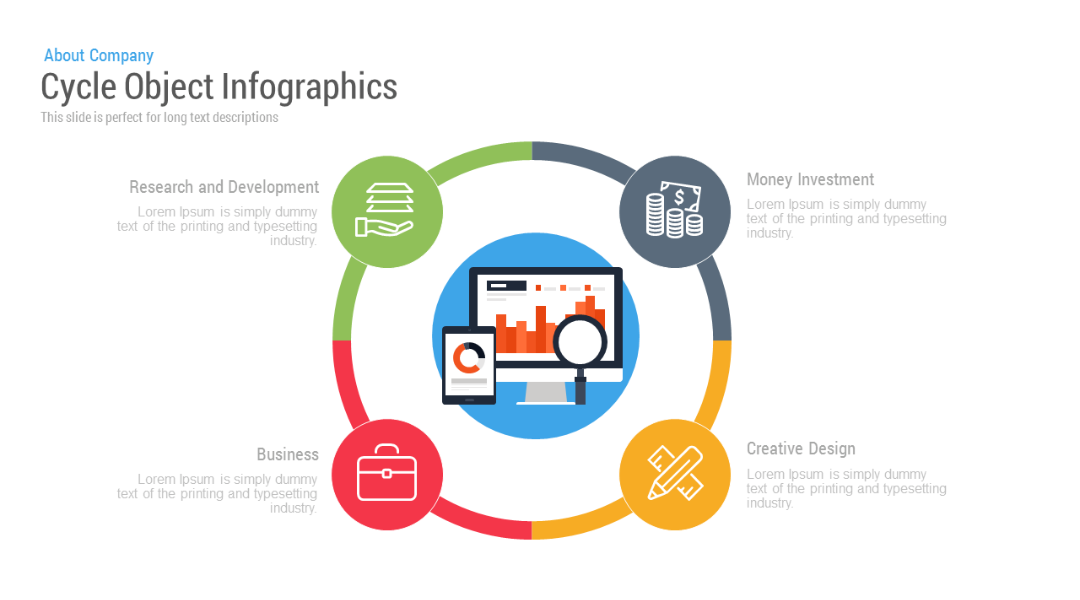Cycle Object Infographics Free Google Slides Themes