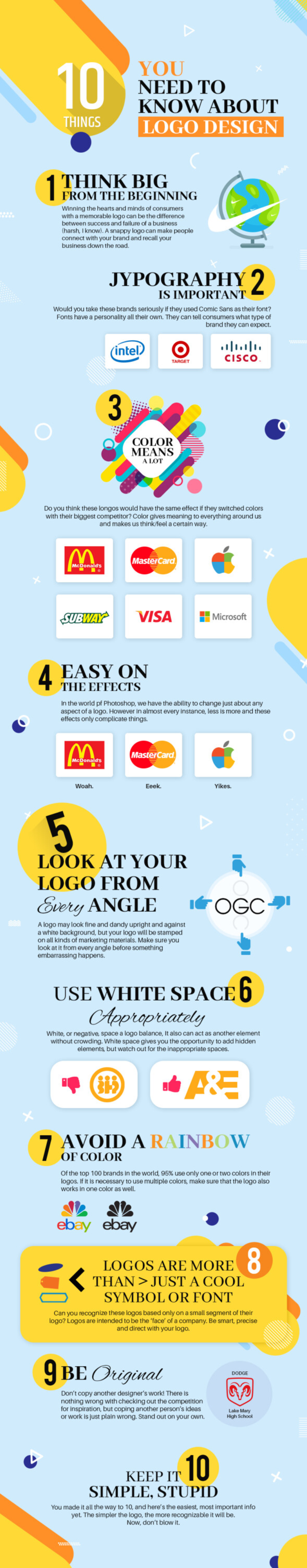 Make your logo appealing to your target audience infographic