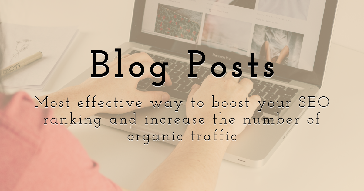 Boost your SEO ranking and increase the number of organic traffic