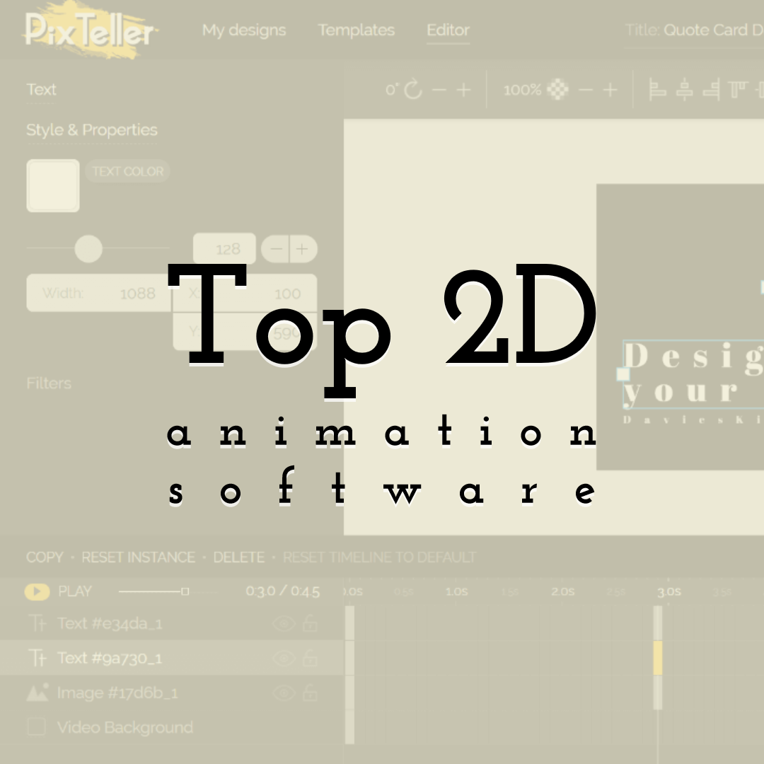 What is the Top 2D Animation Software for Video Making in 2020?