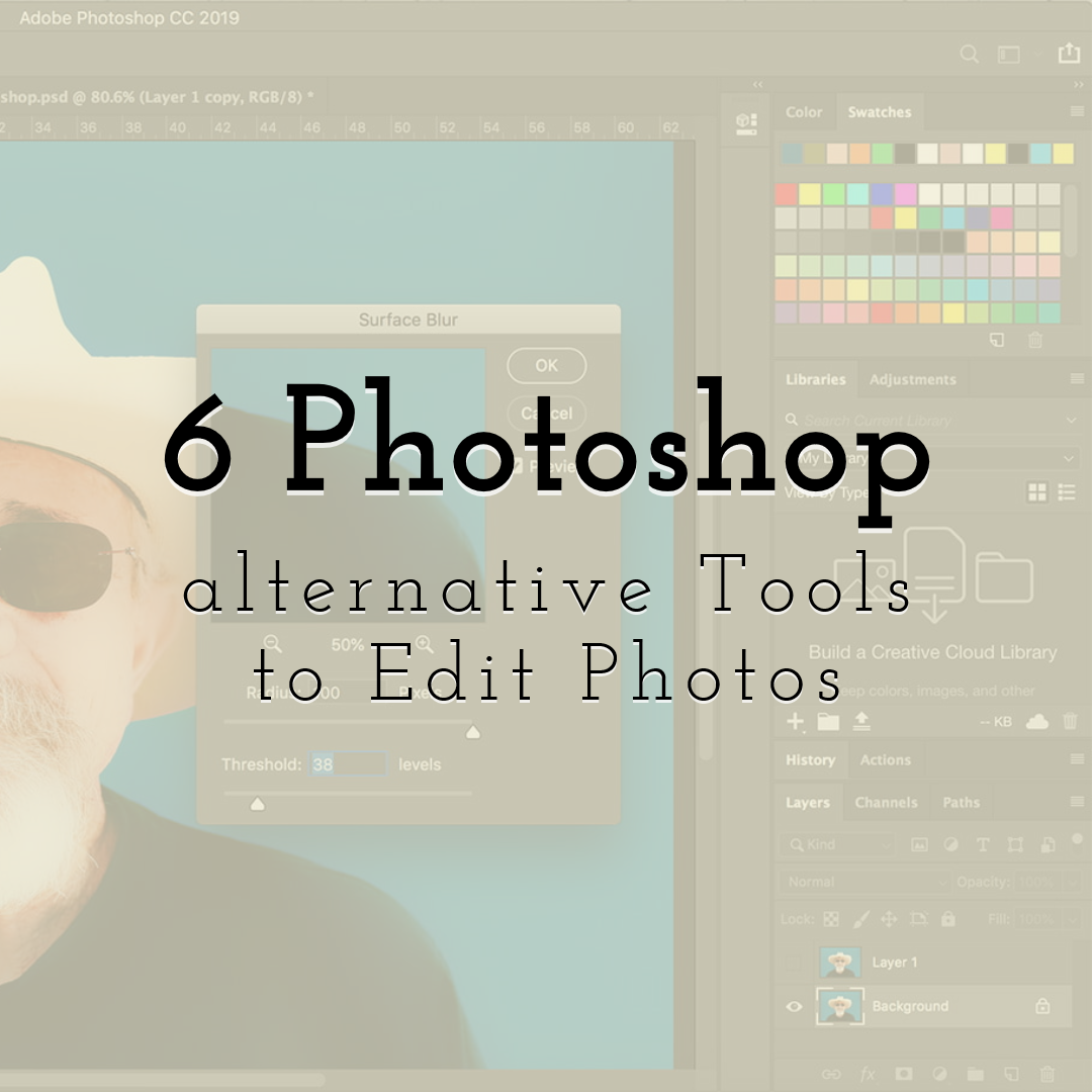 6 Photoshop Alternative Tools to Edit Photos
