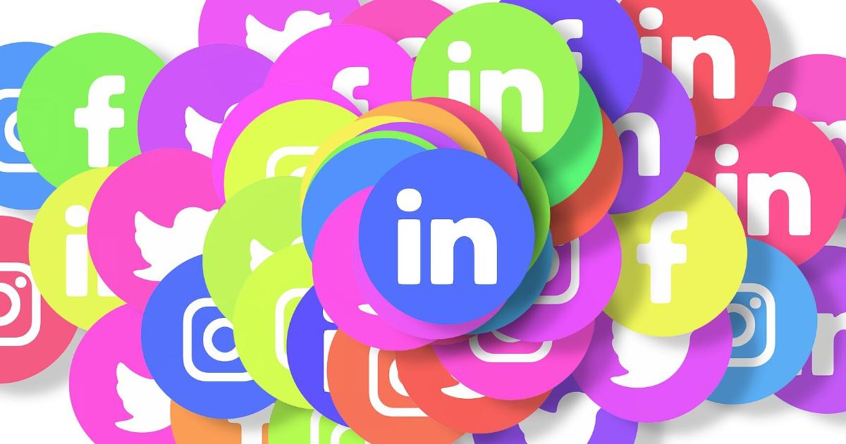 Variety of social media platforms