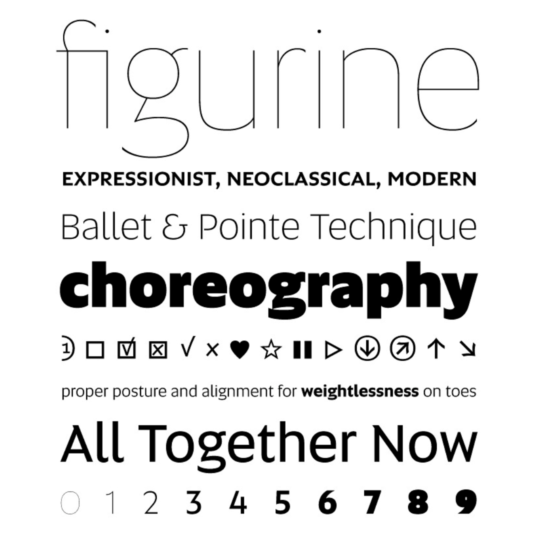 Fonts set the tone for your content