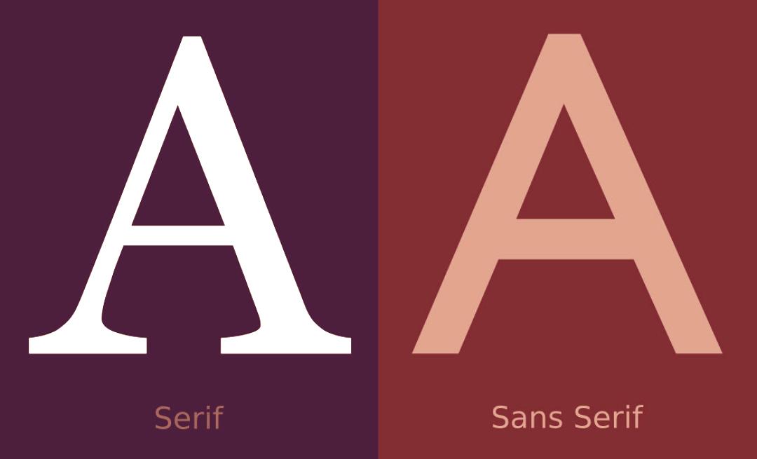 Serif vs. Sans Serif