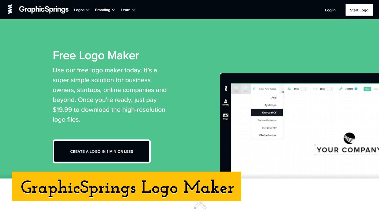 GraphicSprings Logo Maker