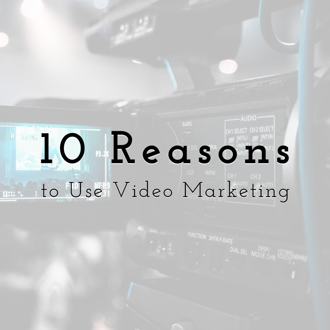 10 Reasons Why You Should Use Video Marketing for Business
