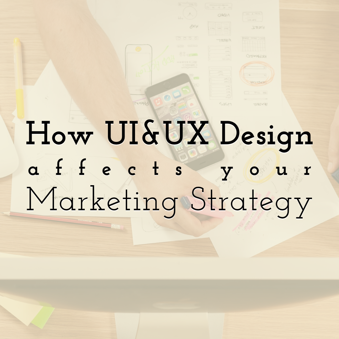 How UI and UX Design Affects Your Digital Marketing Strategy