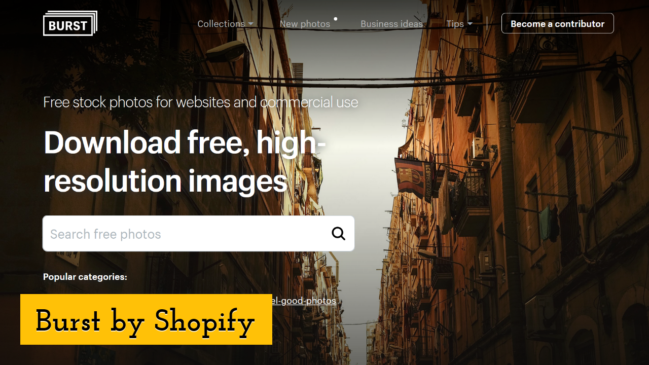 Burst by Shopify ScreenShot