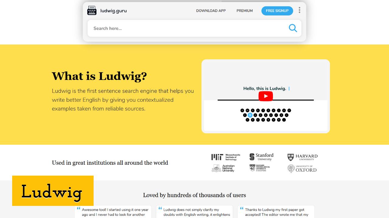 Ludwig ScreenShot