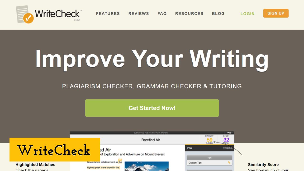 WriteCheck ScreenShot