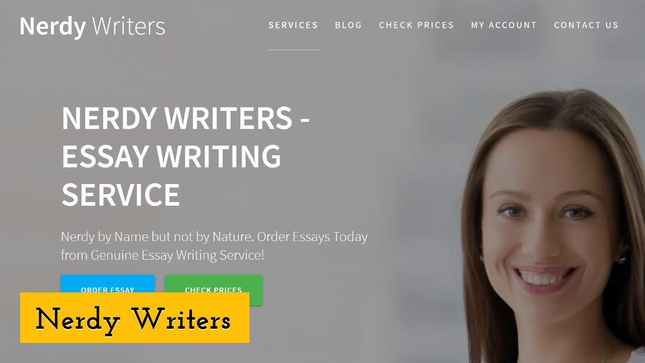 Nerdy Writers ScreenShot