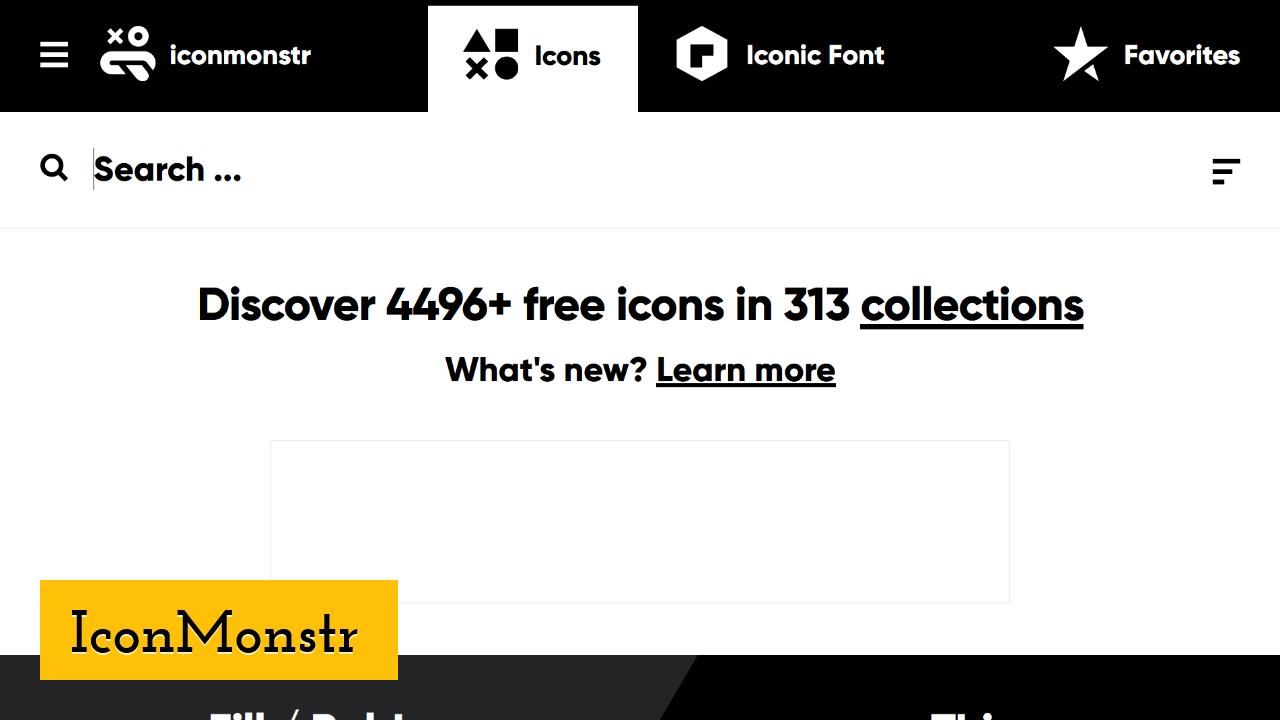 IconMonstr screenshot