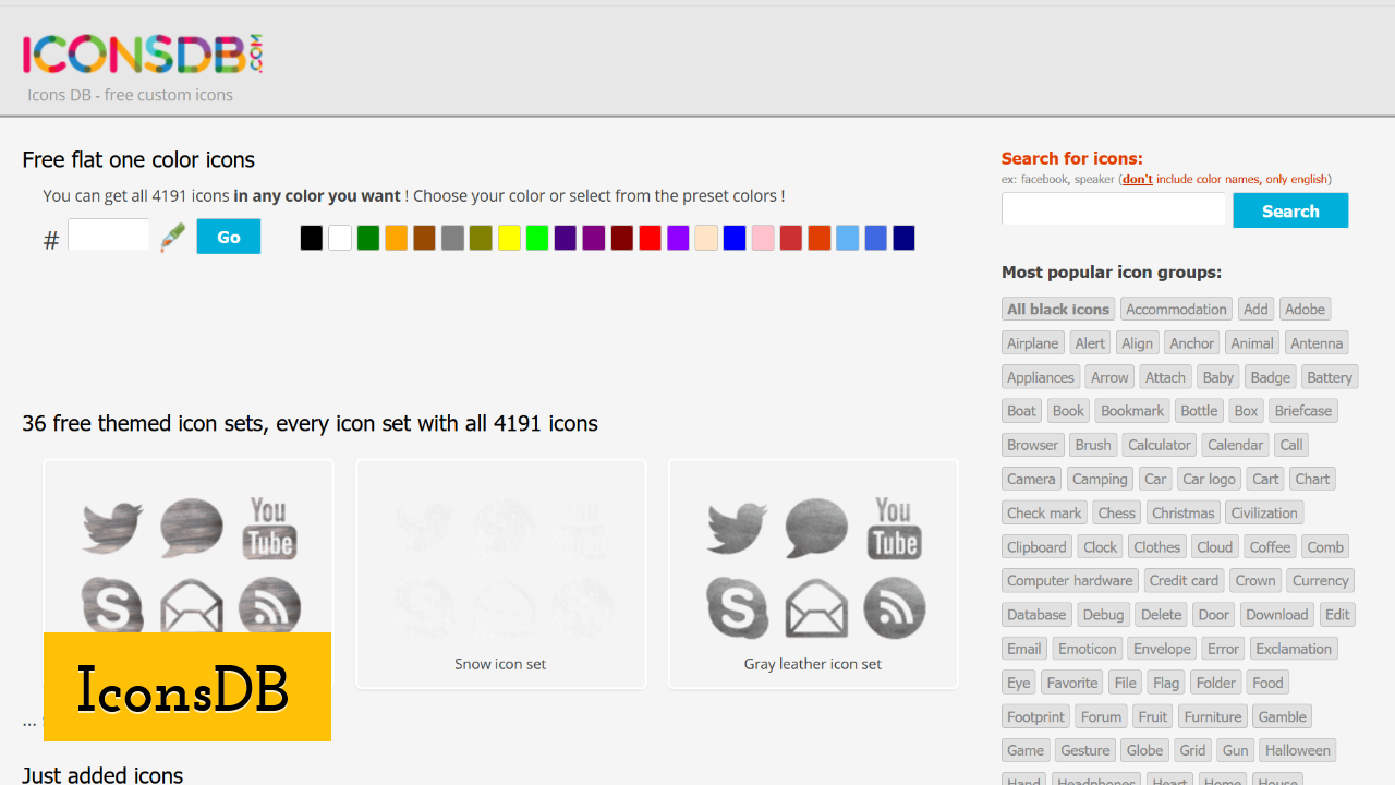 IconsDB screenshot