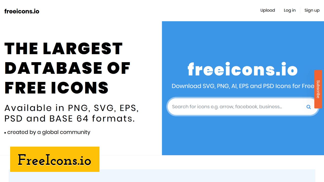 FreeIcons.io screenshot