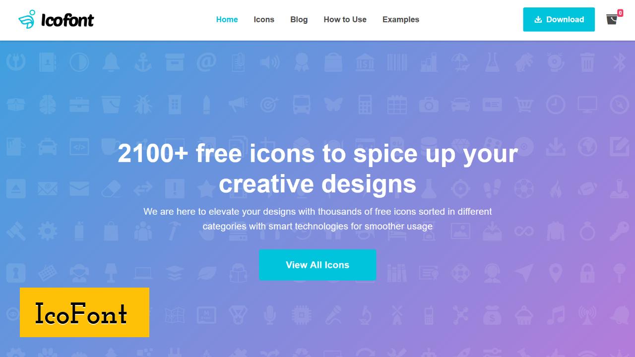 IcoFont screenshot
