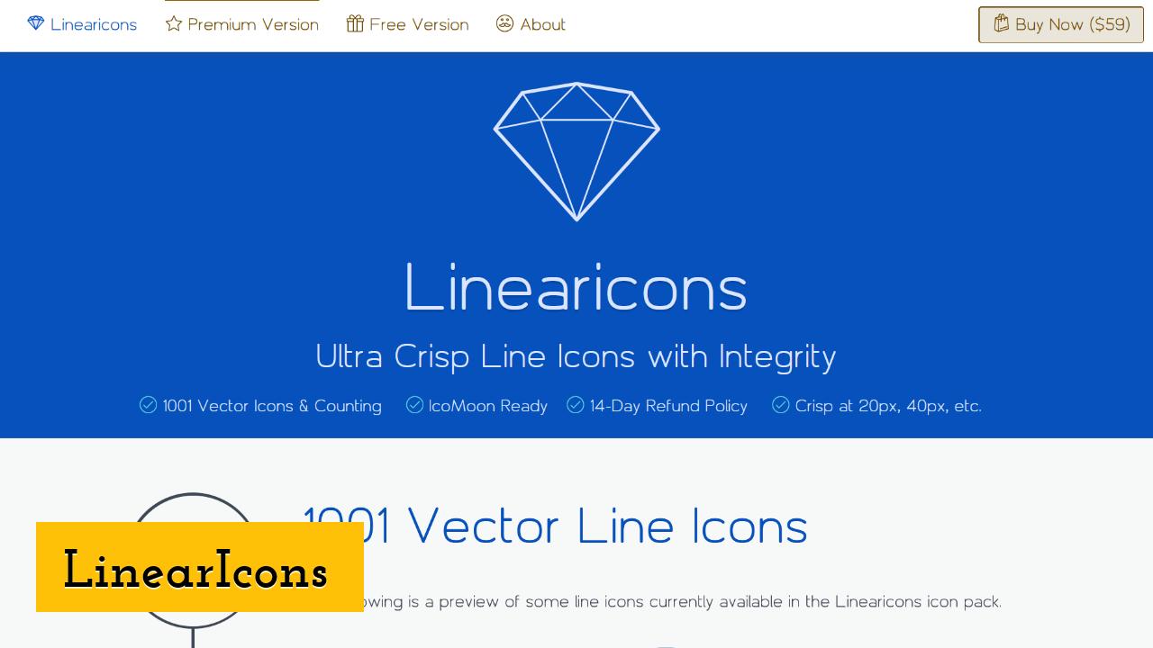 LinearIcons screenshot