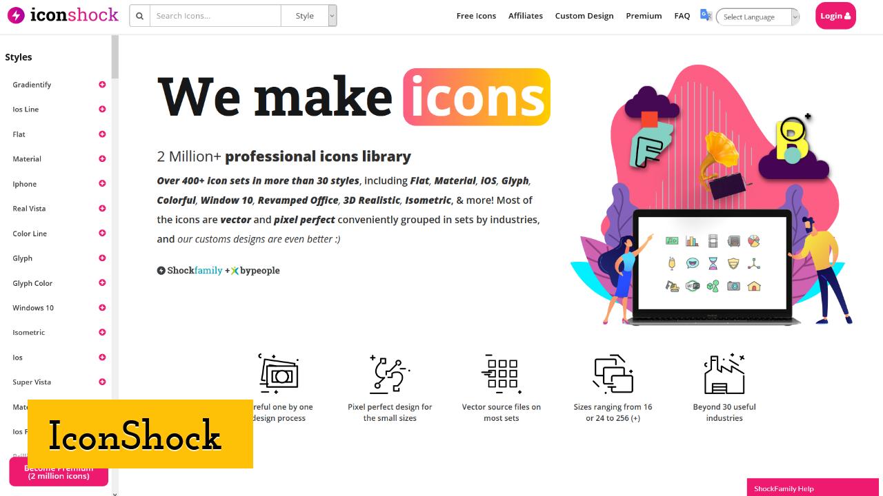 IconShock screenshot
