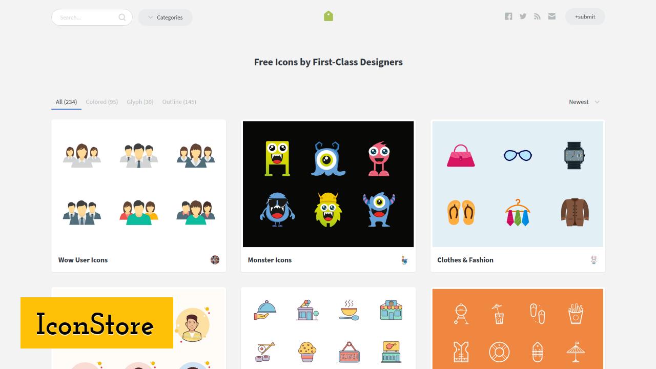IconStore screenshot