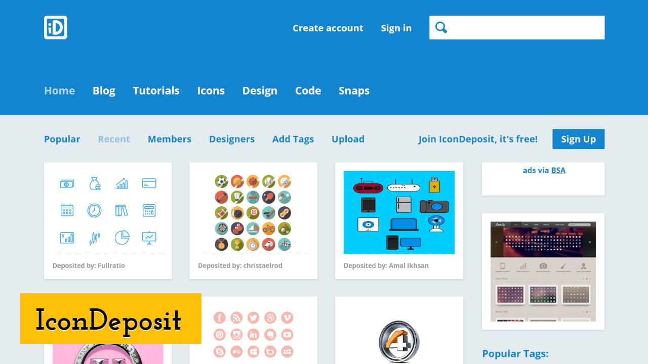 IconDeposit screenshot