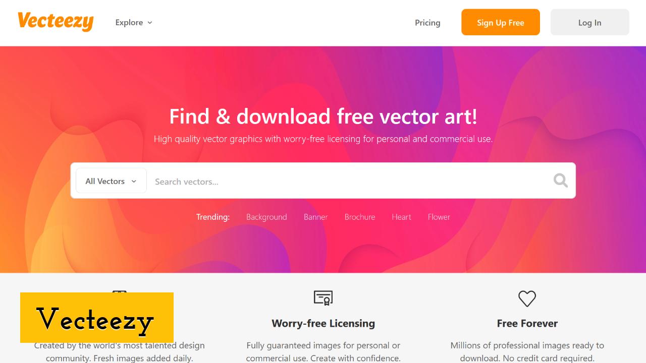Vecteezy screenshot