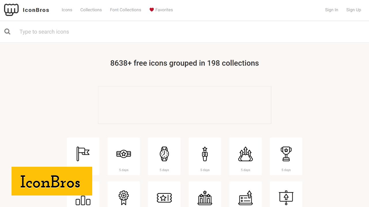 IconBros screenshot