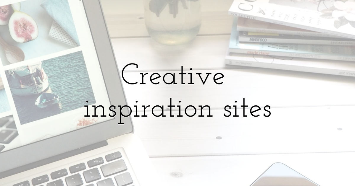 Creative inspiration sites