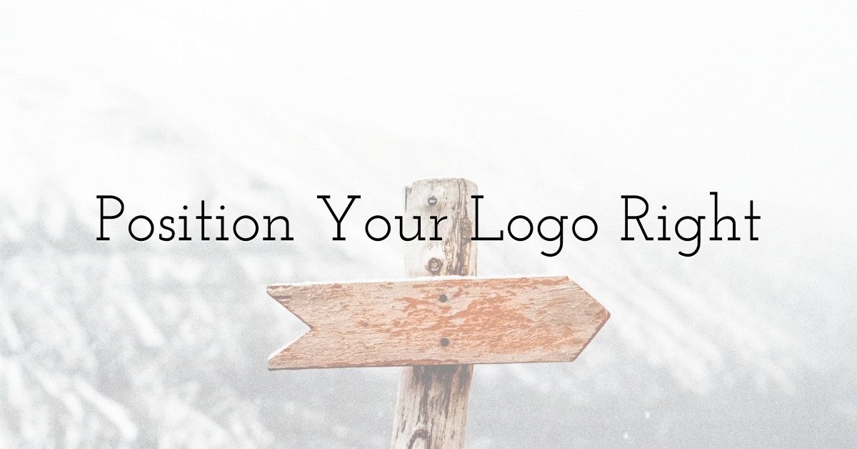 Position Your Logo Right
