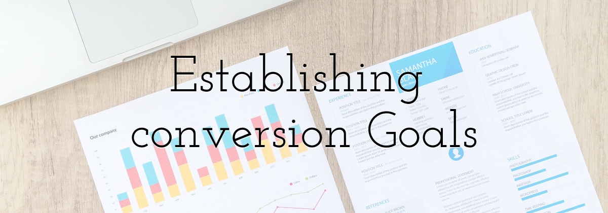 Establishing conversion Goals
