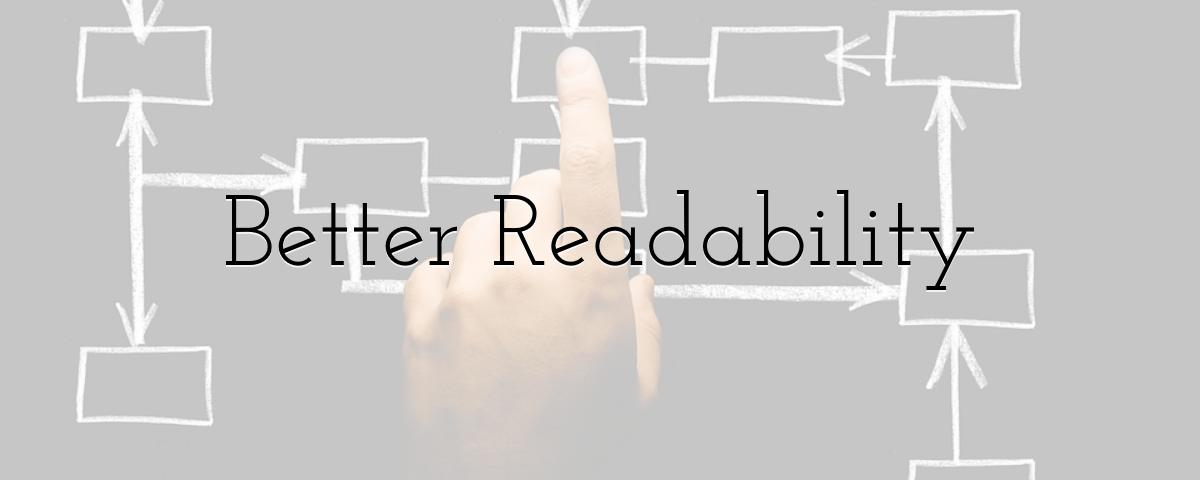 Better Readability